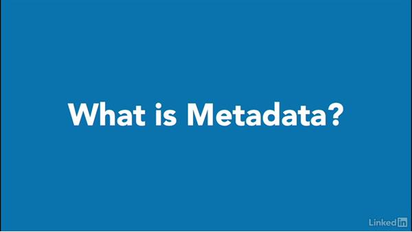 What is metadata?: Learning Metadata for Book Publishing