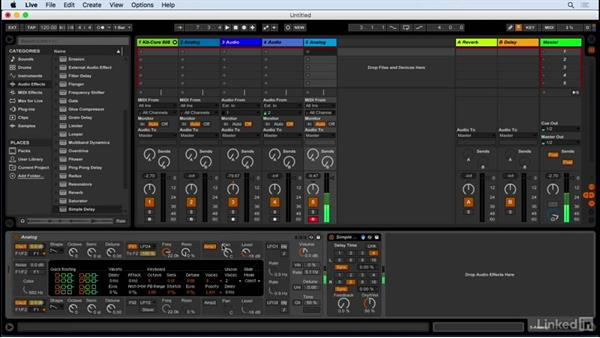 Working with Ableton Live's browser: Producing Electronic Music in Ableton Live