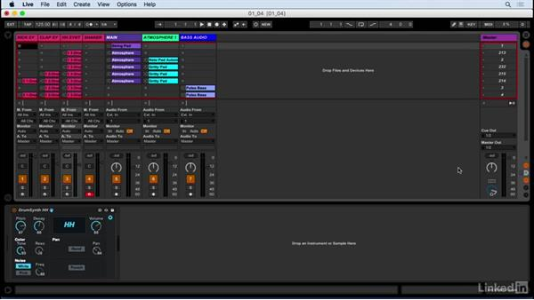 Session view and Arrangement view: Producing Electronic Music in Ableton Live