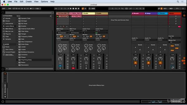 Insert effects: Producing Electronic Music in Ableton Live