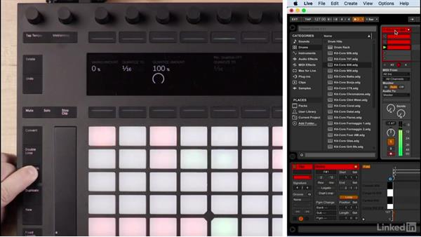 Programming drums with Ableton Live's drum racks: Producing Electronic Music in Ableton Live