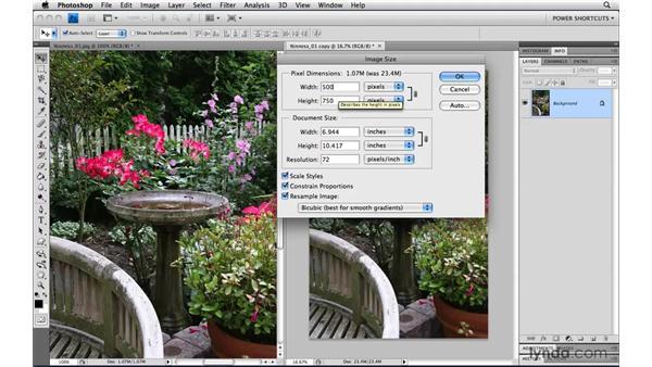 Making Bicubic Sharper the default algorithm: Photoshop CS4 Power Shortcuts