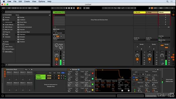 Programming leads with instrument racks: Producing Electronic Music in Ableton Live