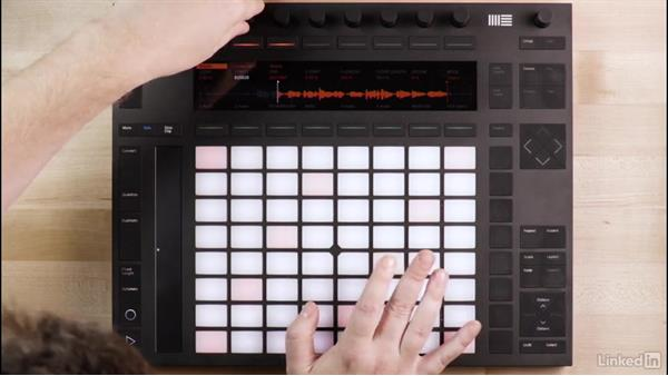 Using Push 2 with Ableton Live Sampler