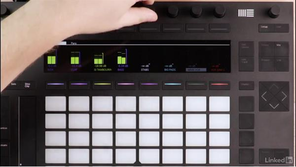 Tips and tricks for using Push 2 during the mixing process: Producing Electronic Music in Ableton Live