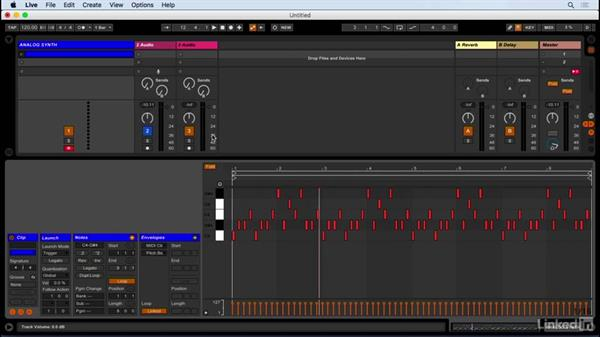 Using Ableton Live with an analog synth: Producing Electronic Music in Ableton Live