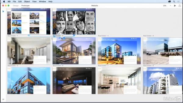 Prototyping an entire website: Design a Website with Adobe XD