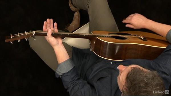 Fretting hand fundamentals 1: Fretting hand technique: Acoustic Guitar Lessons with Bryan Sutton: 1 Picking, Fretting, and Chords