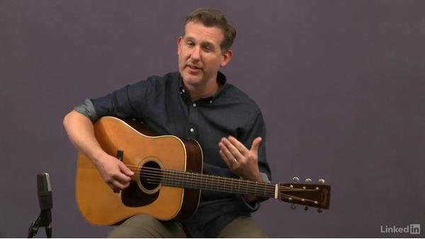 Combining picking hand and fretting hand: Acoustic Guitar Lessons with Bryan Sutton: 1 Picking, Fretting, and Chords