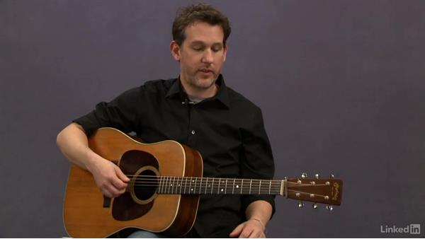 Introduction to picking pattern exercises: Acoustic Guitar Lessons with Bryan Sutton: 1 Picking, Fretting, and Chords