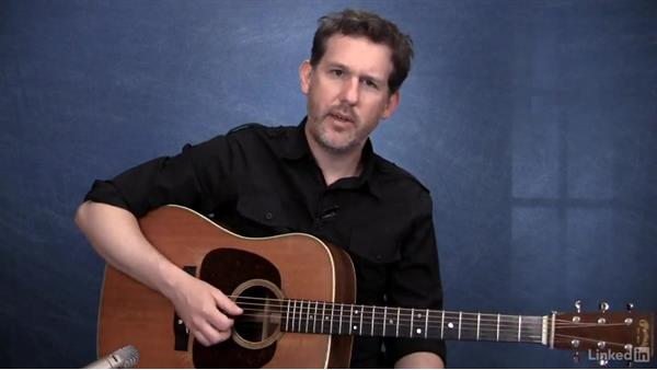 Picking pattern: Exercise 2: Acoustic Guitar Lessons with Bryan Sutton: 1 Picking, Fretting, and Chords