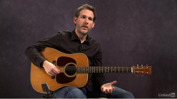 Rhythm and chords overview: Acoustic Guitar Lessons with Bryan Sutton: 1 Picking, Fretting, and Chords