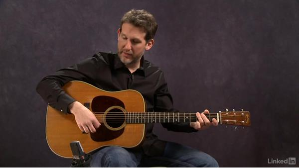 "The ""boom chuck"" sound: Part 1: Acoustic Guitar Lessons with Bryan Sutton: 1 Picking, Fretting, and Chords"