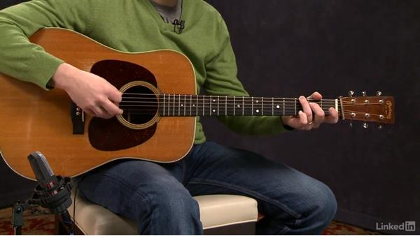 """Turkey in the Straw"" (basic): Melody, part 1: Acoustic Guitar Lessons with Bryan Sutton: 1 Picking, Fretting, and Chords"