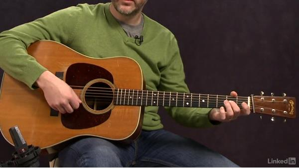 """Turkey in the Straw"" (basic): Melody, part 2: Acoustic Guitar Lessons with Bryan Sutton: 1 Picking, Fretting, and Chords"