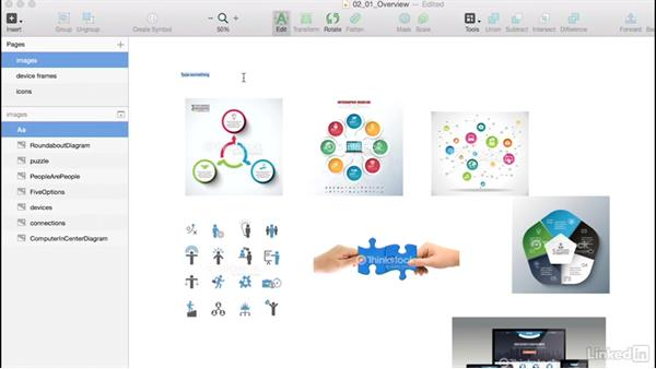 Overview: Create your asset library in Sketch: Learn Sketch: Style Guides & Asset Libraries