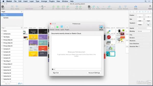 Sharing your asset library: Learn Sketch: Style Guides & Asset Libraries