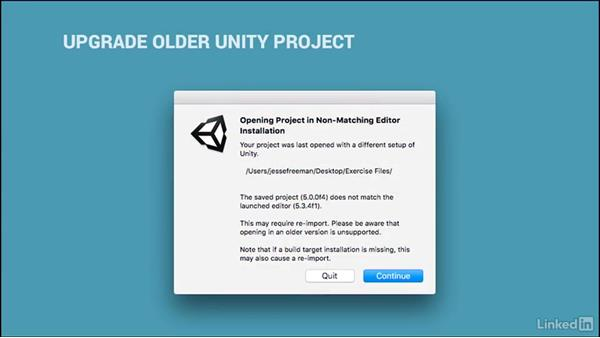 The exercise files: Unity 5 2D Essential Training