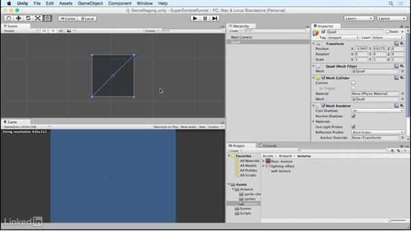 Build a repeat background: Unity 5 2D Essential Training