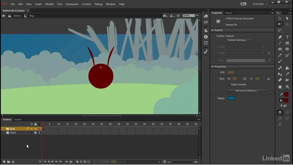 Designing a bug: Learn Adobe Animate CC: Interactive Animation