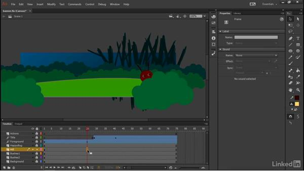 Introductory animation: Learn Adobe Animate CC: Interactive Animation