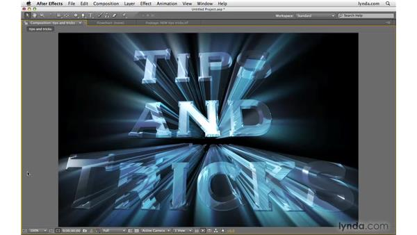 Using this chapter: After Effects CS4 Beyond the Basics