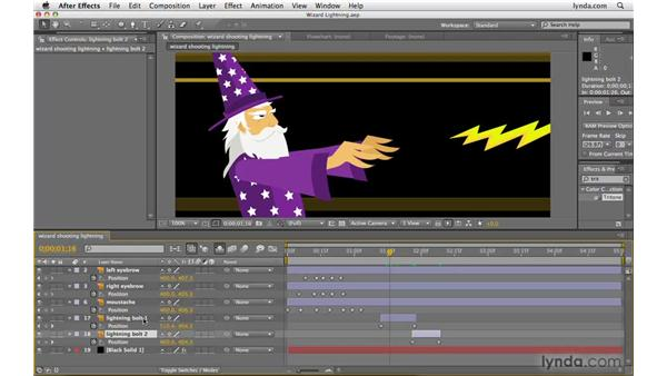 Making the work area the size of multiple layers: After Effects CS4 Beyond the Basics