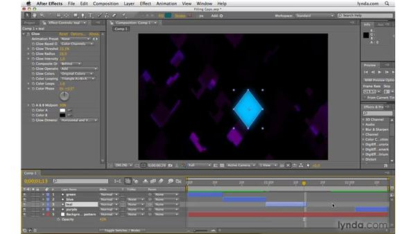 Filling time gaps between footage: After Effects CS4 Beyond the Basics
