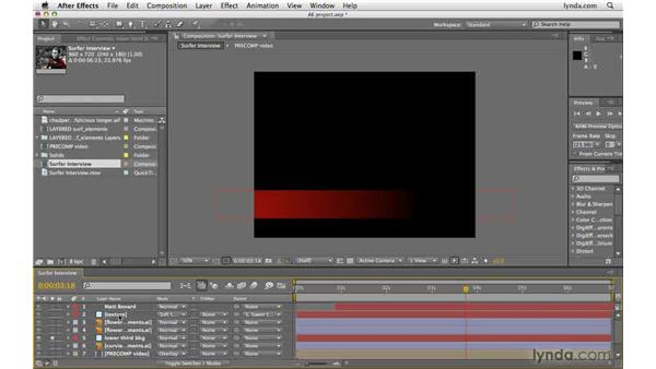 Isolating layers: After Effects CS4 Beyond the Basics