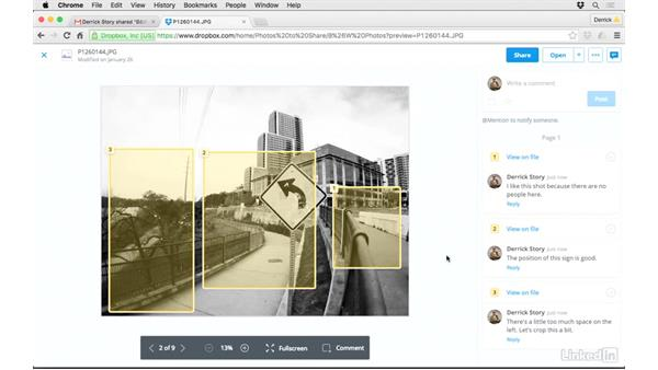 Use Dropbox to deliver images to a client or friends: Dropbox for Photographers