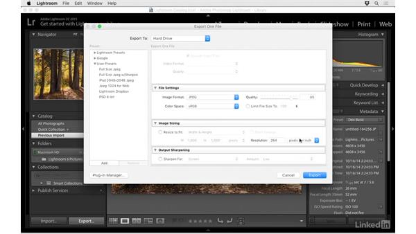 Copy images to Dropbox directly from Lightroom: Dropbox for Photographers