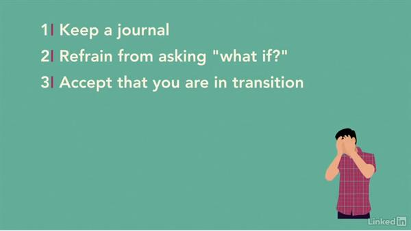 The psychology of transitioning out of a job: Transitioning Out of Your Job