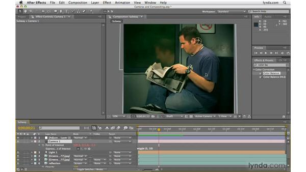 Using motion and cameras in compositing: After Effects CS4 Beyond the Basics