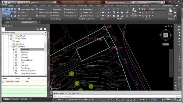 Create and edit surfaces: Cert Prep: AutoCAD Civil 3D Certified Professional