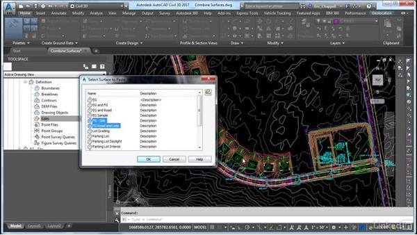 Create a surface by assembling fundamental data: Cert Prep: AutoCAD Civil 3D Certified Professional