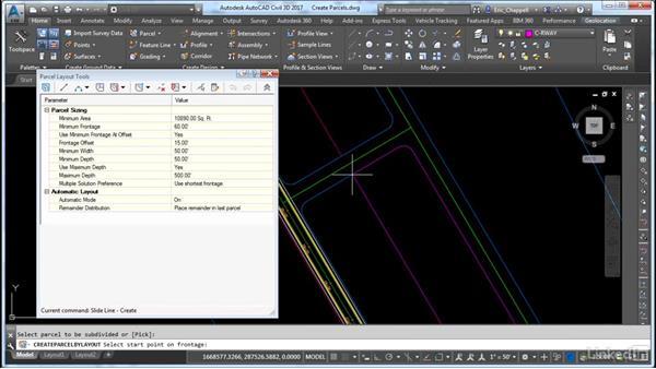 Design a parcel layout: Cert Prep: AutoCAD Civil 3D Certified Professional