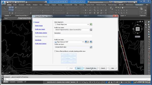 Create a surface profile: Cert Prep: AutoCAD Civil 3D Certified Professional