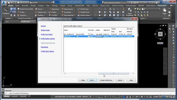 Create a profile view: Cert Prep: AutoCAD Civil 3D Certified Professional