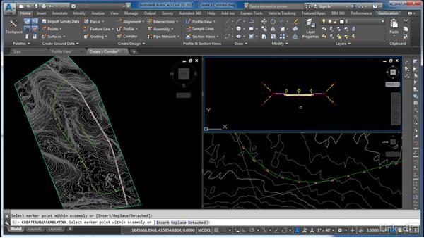 Design and create a corridor: Cert Prep: AutoCAD Civil 3D Certified Professional