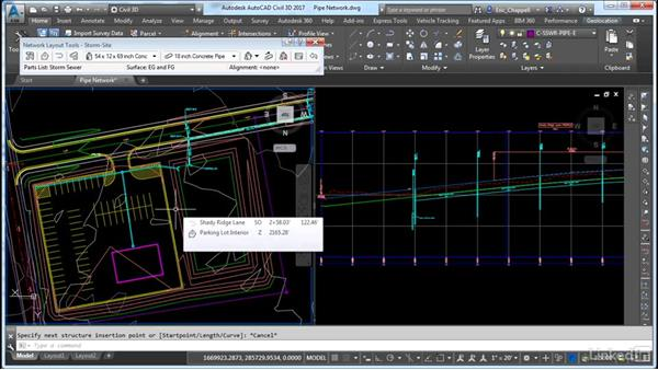 Design and create a pipe network: Cert Prep: AutoCAD Civil 3D Certified Professional