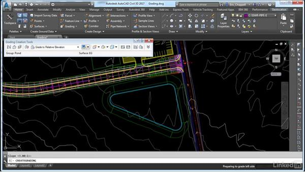 Design and create a grading model: Cert Prep: AutoCAD Civil 3D Certified Professional