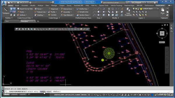 Create a boundary drawing from field data: Cert Prep: AutoCAD Civil 3D Certified Professional