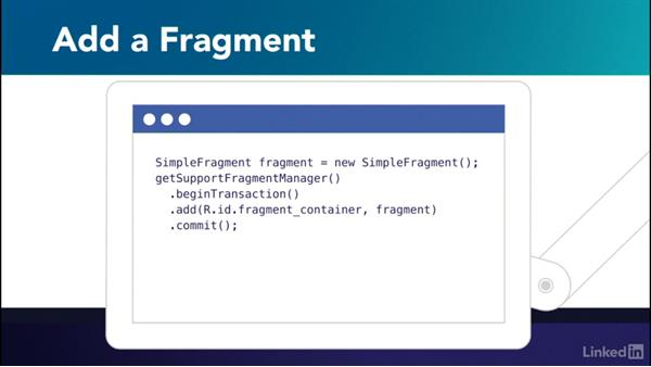 Explore the FragmentTransaction class: Building Flexible Android Apps with the Fragments API