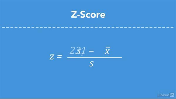 Z-score: Measuring by using standard deviations: Statistics Fundamentals - Part 1: Beginning