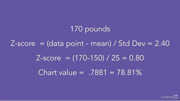 Using the Z transformation to find probabilities: Statistics Fundamentals - Part 1: Beginning