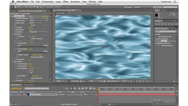Creating watery textures: After Effects CS4 Beyond the Basics