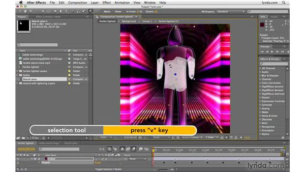 Animating with the puppet tools: After Effects CS4 Beyond the Basics