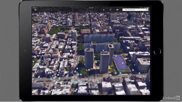 Getting to know the location with Street View: Mobile Apps for Photo and Video Projects