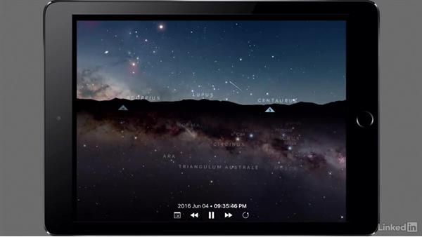 Shooting the night sky using Sky Guide: Mobile Apps for Photo and Video Projects