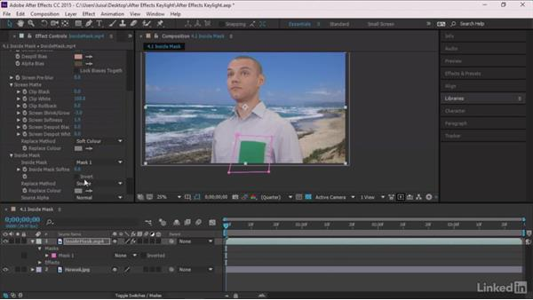 Welcome: After Effects Guru: Keying with Keylight